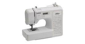 Brother, RCE1100PRW, 100, Stitch, Project, Runway, Computer, Sewing, Machine, LCD, 8, 1, Step, Buttonholes, Threader, 7pc, Drop, Feed, for, Free, Motion, 7, Feet, 11Lb