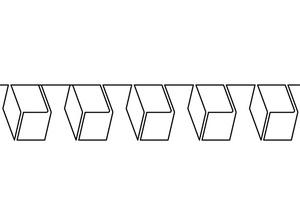 Handi, Quilter, HG00105, Blocks, 6, Handi Quilter HG00105 Blocks 6 Groovy Board Template