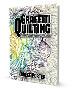 Handi, Quilter, HL00456, Graffiti, Quilting, Book, Karlee, Porter