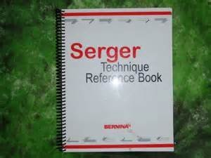 Bernina STRB Serger Technique Reference Book
