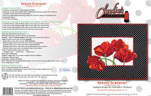 Claudia's, Creations, SS60993, Spring, Surprise, Embroidery, Design, Pack