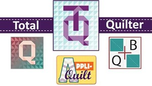Floriani My Total Quilter 3in1 Software Package My Decorative Quilter MDQII, My Quilt Builter MQB, and Appli-Quilt