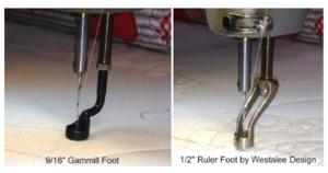 "Westalee 1/2"" Diameter Ruler Foot For Gammill Longarm Quilting Machines"
