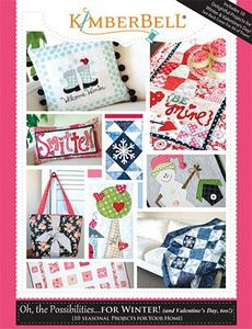 "Kimberbell KD707 ""Oh the Possibilities of Winter"" 10 Seasonal Projects Pattern Book"