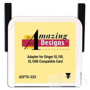 Amazing Designs Max Box Adapter ADPTRXXXX For Singer .xxx Format Card used in Singer XL150 and XL1000  Embroidery Machines