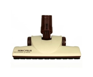 Sebo Attachment 7200SR FELIX Premium Parquet Brush (cream - Classic)