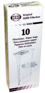 Sebo 5093AM Filter Bags Box for X, C, G, 370 Series (1 pc.)