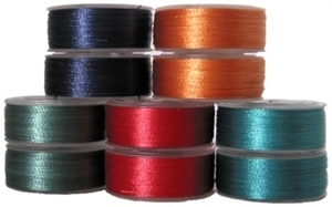 Singer EU-1, 25 Colors of Filled Large Upper Thread J001P for Aisin Toyota POEM, Husqvarna Viking Huskygram, Passap POEM