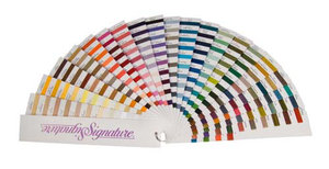A&E Signature SIGCCFAN204 Fan Deck Color Card for 204 Colors of Cotton Quilting Thread