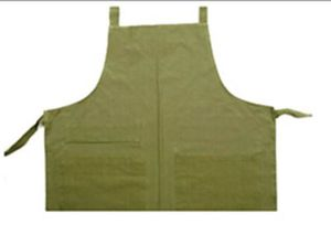 Dunroven 5335-S Sage Solid Apron
