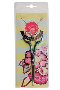 "Tula Pink TP716T 6"" inch Straight Scissors, Shears, Trimmers"