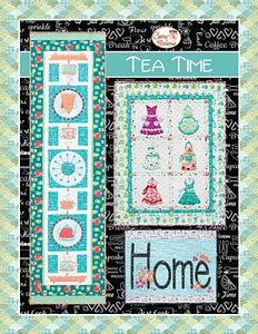 Cherry Blossoms Quilting Studio CB129 Tea Time Pack