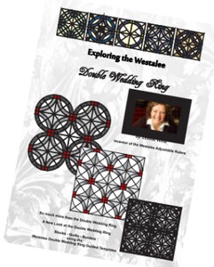 "Sew Steady Westalee ""Exploring The Westalee Double Wedding Ring"" Book"