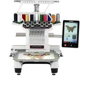 "Brother, Entrepreneur, ProX, PR1050X, Babylock Valiant, BMV10, 10 Needle, 8x12"" Embroidery Machine, 10""LCD, Scan, 30 Extras, Stand, Cap Equipment, PED10, BES4, Start  Kit, 19 HoopsBrother, PR1000E, Entrepreneur Pro, babylock enterprise, BNT10L, 10 Needle, 14x14"", Embroidery Machine, PEDesign, UPGrade, BES2, SAAG1, Stand, 270° Cap Eq, Ext Table, 6 Hoops"