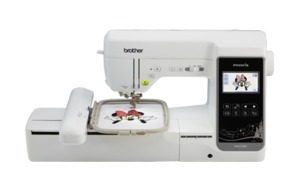"Brother NS2750D 240 Stitch Sewing & 5x7&12"" Embroidery Machine USB, 138 Designs +35 Disney +140 Frames +14 Fonts +2 Hoops, Color Screen Edit"