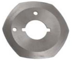 Diamond Organ YJ50-W9 Replacement Cutting Blade Hexagonal 6 Sided, for YJ50 Cloth Cutting Machine