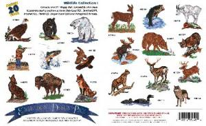 Amazing Designs Great Notions 1006 Wildlife I Embroidery Multi-Formatted CD
