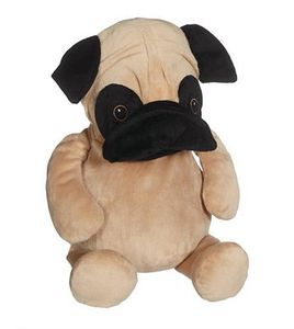 Embroider, Buddy, EB41096, Parker, Pug, Buddy, Embroidery, Blank, with, Stuffing