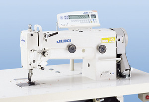 Juki LZH-1290-7 10mm Zigzag Machine, Auto Backtack, Thread Trim, Foot Lift, Needle Position, Lg Hook, M Bobbins, Assembled Stand, Servo Motor 2000SPMnohtin