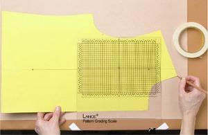 "80205: Lance PGS-1-LAN Pattern Grading Scale Ruler 10.5""x11.5"""