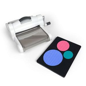 Sizzix EED661581 Big Shot Fabric Series Starter Kit, Hand Crank Die Cutter Machinenohtin