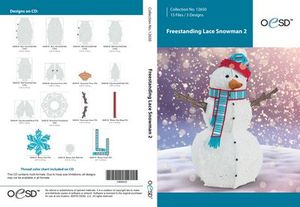 OESD Freestanding Snowman 2 CD