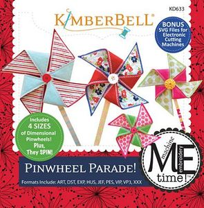 KimberBell, KD633, Pin, wheel, Parade, ME, CD