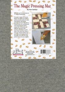 "The Decorating Diva NOT18 Magic Pressing Mat 12x18"" Inches, Woolnohtin"