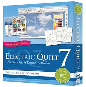 Electric Quilt EQ-700 Version 7 Quilting Design Softwarenohtin