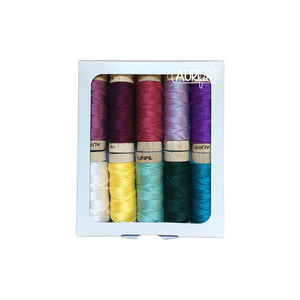 Aurifil Coastal Mist Thread Collection by Tammy Silvers (Small Spools)