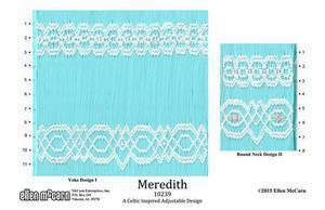 Ellen McCarn EM10239 Meredith Smocking Plate