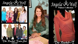 TV's Angela Wolf, Sewing with Knits Class, Friday, April 28th 10AM -5PM, Houston Retail Store