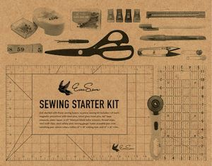 ES-BESB, Big, Ever, Sewn, Starter, Kit, gift, seam, ripper, pin, catcher, tape, measure,