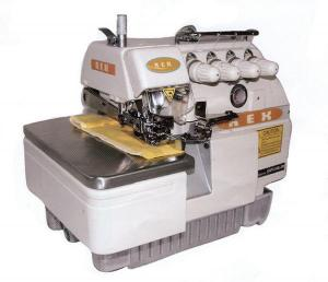 Rex RX737 3-Thread  Overlock Serger Sewing Machine & Power Stand 1/2HP 3450RPM