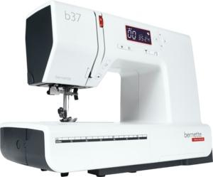 Bernette 37, 50 Stitch Electronic Computerized Sewing Machine, 5 Buttonholes, 7mm Stitch Width, Speed Limit, Start/Stop, Swiss Design