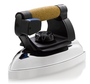 Reliable 2000IR Professional Steam Iron Head Only Factory Serviced, 32 Chambers, Aluminum Soleplate, 4Lbs, 800W, Cork Handle, 7' Cord, Made in Italy