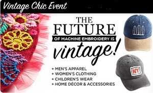 DIME Inspirations Vintage Chic Event by Sheryl Burnette August 11, San Antonio, TX West Ave Retail