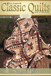 Kaye England Publications 93-4297 Star of Hope Quilt Pattern