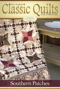 Kaye England Publications 93-4301 Southern Patches Quilt Pattern