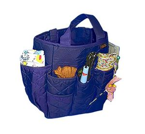 Yazzii International CA700M Craft Basket Navy 18 Pocket Organizer