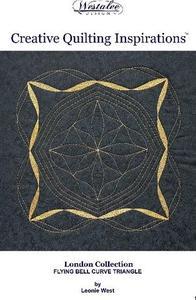 83087: Westalee WA-BOOKCQIBTRI Creative Quilting Inspirations Bell Curve Triangle Designs Book