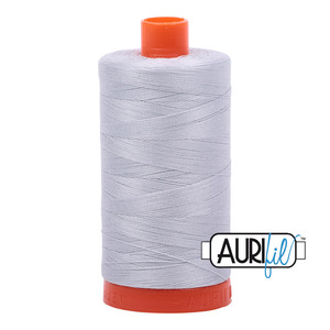 Aurifil MK50SC6-2600 Dove Cotton Mako Thread 50wt 1422 Yard Spool
