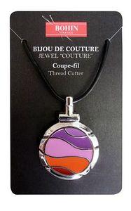 Bohin B98307 Jewel Thread Cutter Fuschia Necklace