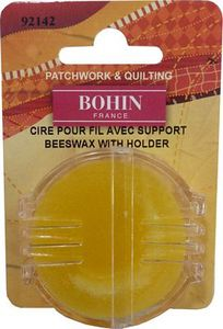 Bohin 92142 Beeswax with Holder, Bulk 5 Pieces/box