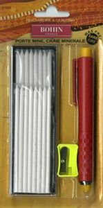BOHIN 91489 CHALK PENCIL REFILLABLE CARTRIDGE SET