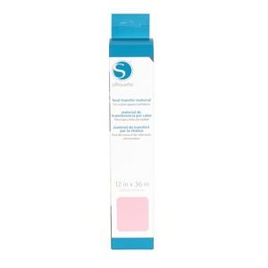 59155: Silhouette heat-12sm-ltpnk LT Pink Smooth Heat Transfer Vinyl Material 12x36''