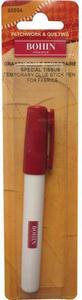 "79167: Bohin 65504 Temporary Adhesive Fabric Glue Stick Pen 8"" Pink"