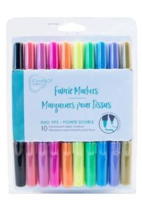 Camelot Fabrics 2029805 Fabric Markers- Bright Colors