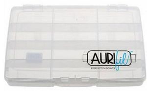 Aurifil SOAC12 Plastic Storage Case for 12 Large 1094 Yard Spools of Thread