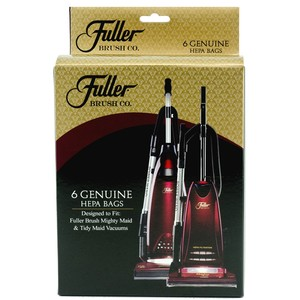 Fuller Brush FBH-6 6-Pack Hepa Bags for Might, Easy, and Tidy Maid vacuums
